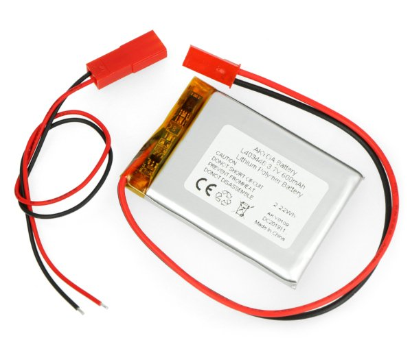Baterie Akyga 600 mAh Li-Pol