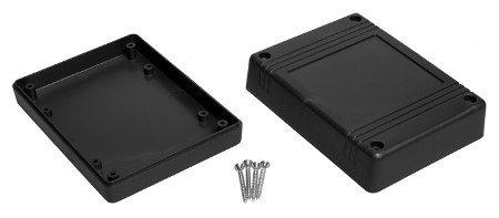 Plastové pouzdro Kradex Z80 IP54 - 120x90x38mm černé