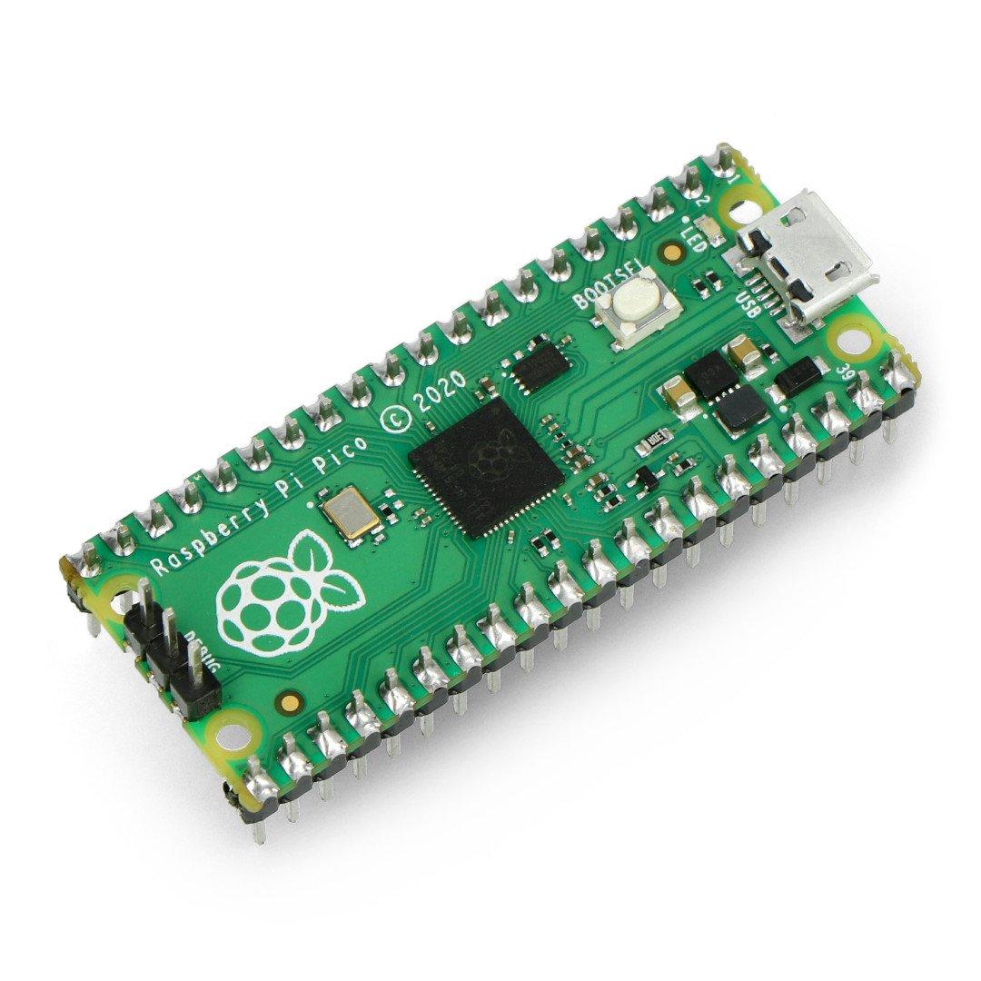 Raspberry Pi Pico s konektory
