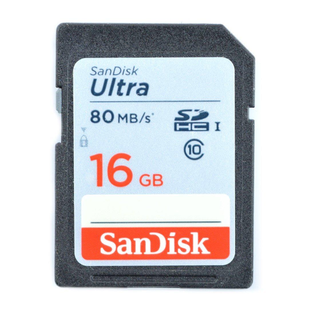 Paměťová karta SanDisk Ultra 533x